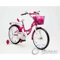 "Велосипед детский Delta Butterfly 14"" + шлем"