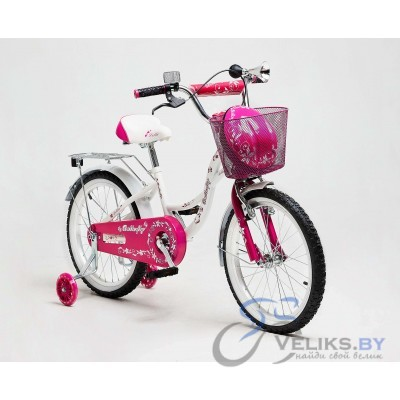 "Велосипед детский Delta Butterfly 16"" + шлем"