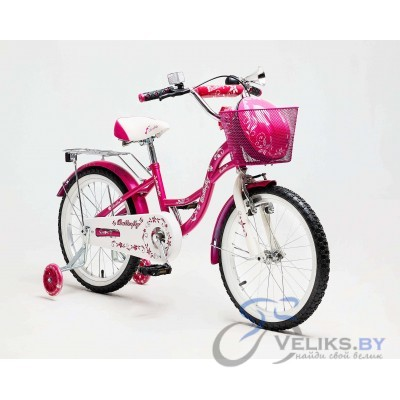 "Велосипед детский Delta Butterfly 18"" + шлем"