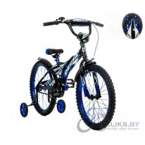 """Велосипед детский Delta Pilot 170 18"""" + шлем"""