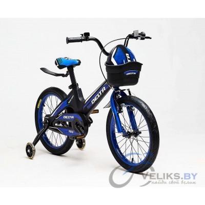 """Велосипед детский Delta Prestige 18"""" + шлем"""
