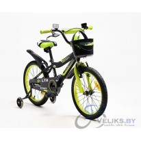 "Велосипед детский Delta Sport 16"" + шлем"