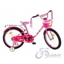 """Велосипед детский Favorit Lady 18"""""""