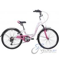 """Велосипед подростковый Novatrack Butterfly 24"""""""