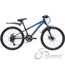 """Велосипед подростковый Novatrack Lumen 24"""" Disc"""