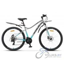"""Велосипед горный Stels Miss 7100 D 27.5"""" V010"""