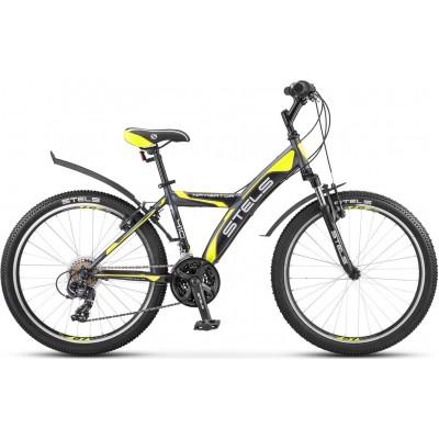 """Велосипед подростковый Stels Navigator 410 V 24"""" 18 sp V030"""